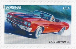 US Stamp Gallery >> 1970 Chevrolet Chevelle SS