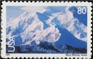US Stamp Gallery >> Mt. McKinley
