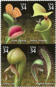 US Stamp Gallery >> Carnivorous plants