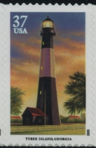 US Stamp Gallery >> Tybee Island, Georgia