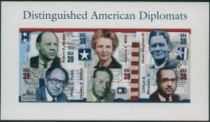 US Stamp Gallery >> Distinguished American Diplomats