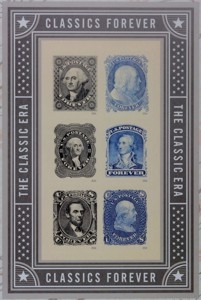 US Stamp Gallery >> Classics Forever