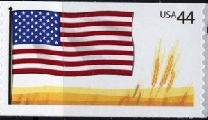 US Stamp Gallery >> U.S. Flag