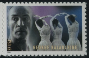 US Stamp Gallery >> George Balanchine