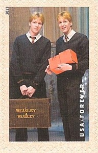 US Stamp Gallery >> Fred and George Weasley