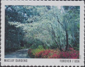 US Stamp Gallery >> Alfred B. Maclay Gardens State Park