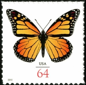 US Stamp Gallery >> Monarch