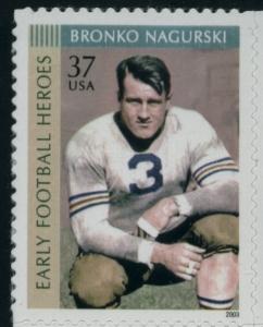 US Stamp Gallery >> Bronco Nagurski