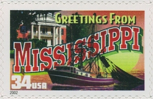 US Stamp Gallery >> Mississippi