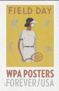 US Stamp Gallery >> Field Day