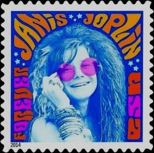 US Stamp Gallery >> Janis Joplin