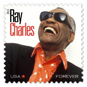 US Stamp Gallery >> Ray Charles