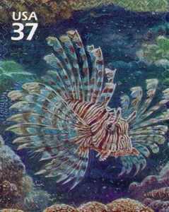 US Stamp Gallery >> Lionfish