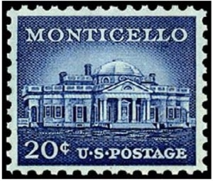 US Stamp Gallery >> Monticello
