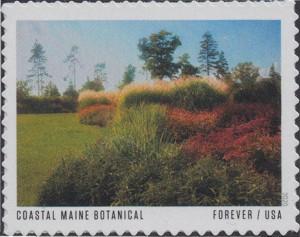 US Stamp Gallery >> Coastal Maine Botanical Gardens