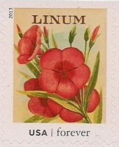 US Stamp Gallery >> Linum